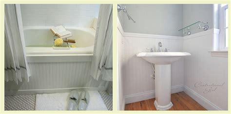 Beadboard Wallpaper Lowes : Bathroom With Beadboard Wallpaper