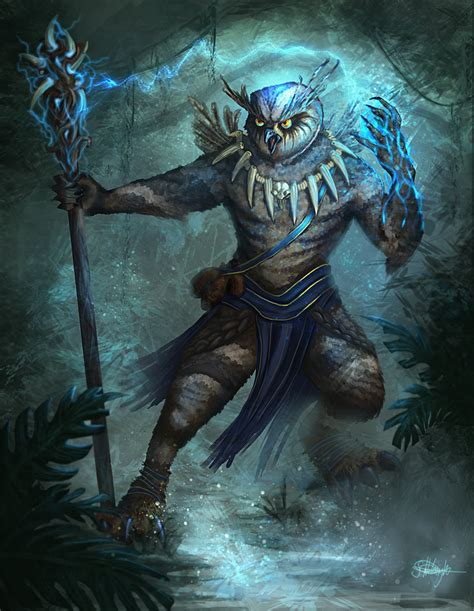 magic beak shaman of the wild by suzanne helmigh on