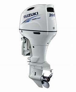 Suzuki 200hp Df200atxw  4-stroke  25 U0026quot  X-long Shaft - Electric Start - Remote Steering