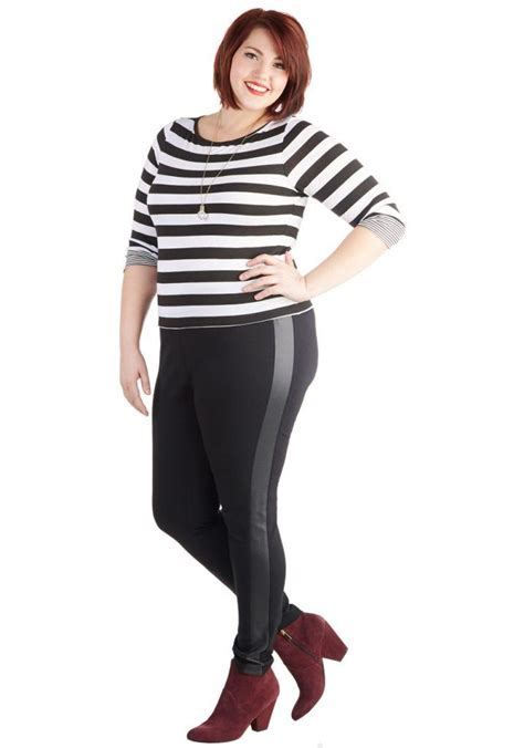 Legging Outfits for Plus Size-10 Ways to Wear Leggings if Curvy