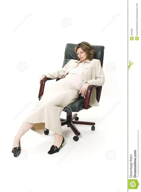 posture bureau de slechte houding de vrouw stock foto afbeelding