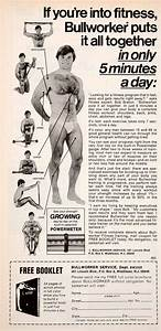 Bullworker 2 Exercise Chart 1978 Ad Underpants Powermeter Bullworker Service Middlesex