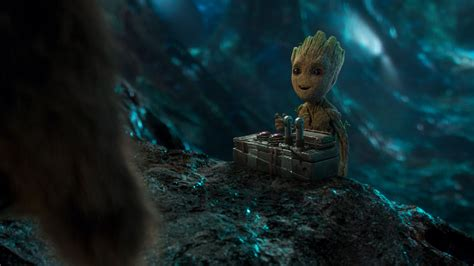 Guardians Of The Galaxy Vol 2 Baby Groot Wallpaper