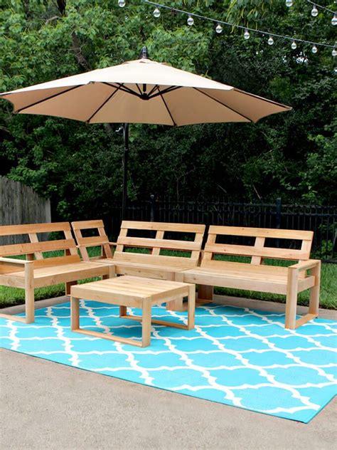 diy outdoor furniture  easy projects bob vila