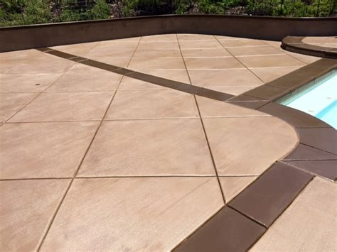 Pool Deck Stain