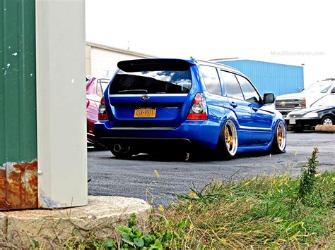 2015 subaru forester stance subaru highlights from first class fitment mind over motor