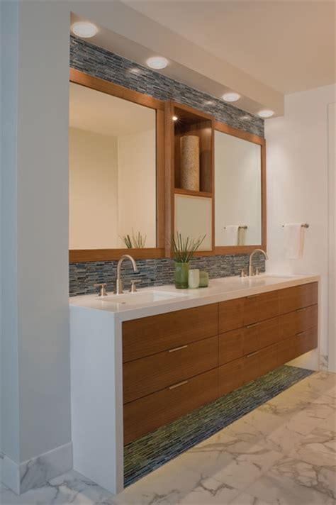 Modern Master Bathroom Vanities by Hillside Bathroom Contemporary Bathroom San