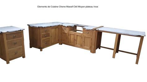 meubles cuisine bois massif cuisine cagne chic