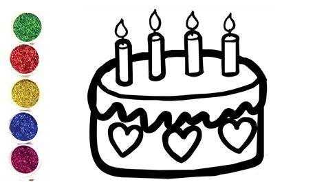 Dessiner Un Gâteau D'anniversaire Pour Bébé