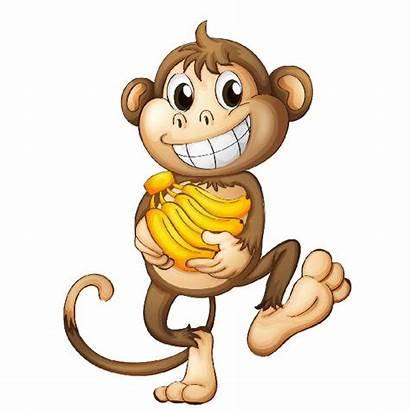 Monkey Cartoon Funny Monkeys Clipart Animated Animal