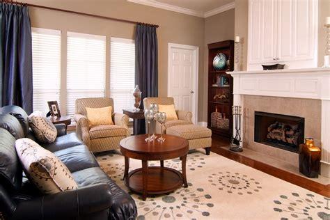 Living Room Design With Black Leather Sofa : Fabulous Black Leather Sofa Decorating Ideas