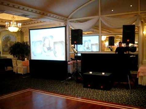 verdis basic dj setup  video projection screen youtube