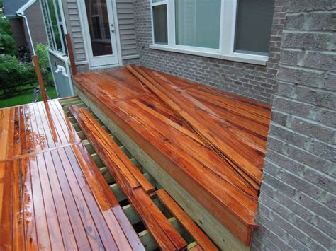 Tiger Wood Decking by Tigerwood Deck Township Oh Area
