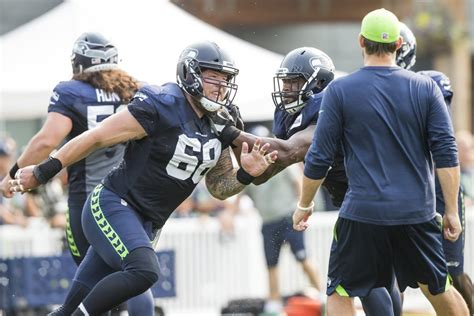 seahawks training camp sunday august   seattle times
