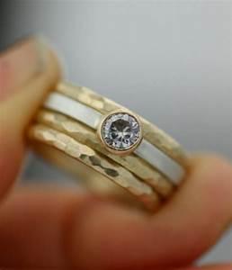 women39s wedding ring set stacking rings modern With stacking engagement wedding rings