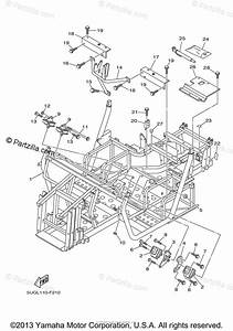 Yamaha Side By Side 2007 Oem Parts Diagram For Frame