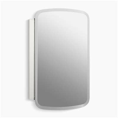 kohler bancroft mirrored medicine cabinet kohler cb clc2031ban bancroft 20 in w x 31 in h aluminum