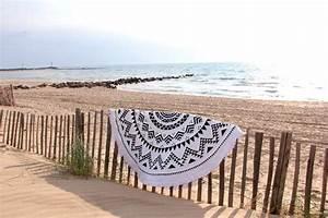 Serviette De Plage Ronde Coton : serviette de plage ronde mandala tendances du monde ~ Teatrodelosmanantiales.com Idées de Décoration