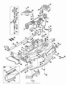 Cub Cadet Lt1046 Mower Deck Diagram