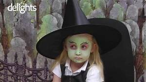 Witch Face Paint - Children's Halloween Witch Tutorial ...