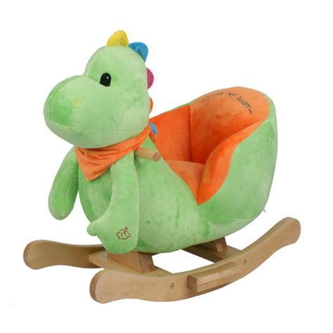 baby animal rocking chair with dino dinosaur ebay
