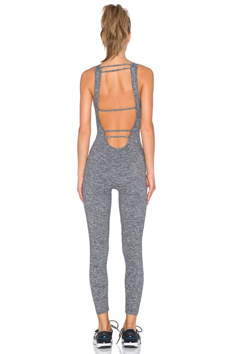 grey jumpsuit womens koral jet jumpsuit in gray lyst