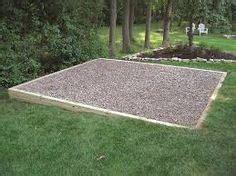 tub foundation gravel 8x8 gravel tub pad backyard bliss