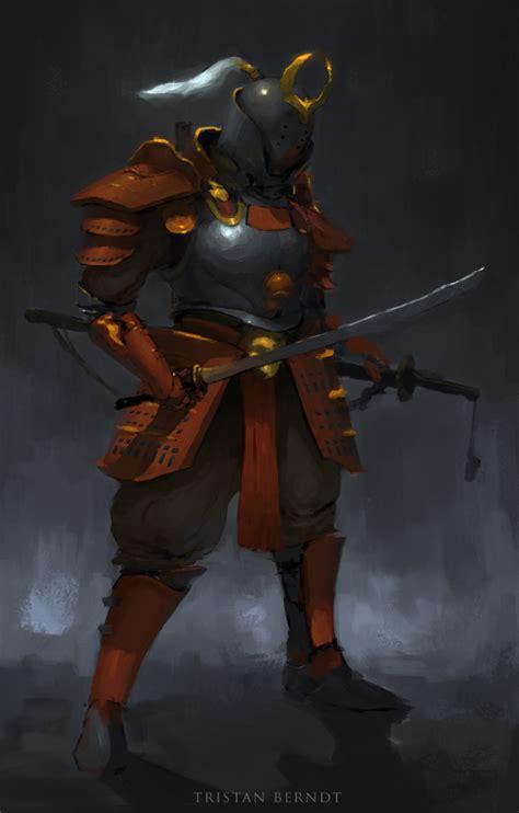 Samurai Knight By Tristanberndtart On Deviantart