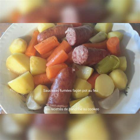 Pot Au Feu Saucisse by Saucisses Fum 233 Es Fa 231 On Pot Au Feu Au Cookeo Les Recettes De Sandrine Au Companion Ou Pas