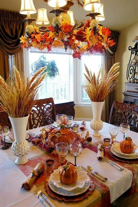 fall dining table decorations fall dining room table decorations fall pinterest