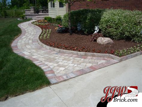 paver walkway ideas paver walkway design ideas traditional landscape detroit by jjw brick com
