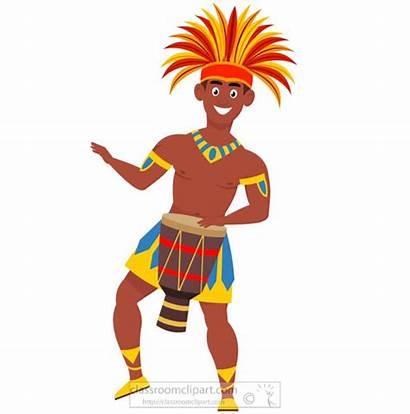 Carnival Brazil Samba Clipart Rio Dance Performing