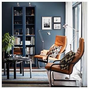 Bibliothèque Vitrée Ikea : billy biblioth que vitr e bleu fonc 80x30x202 cm ikea ~ Teatrodelosmanantiales.com Idées de Décoration