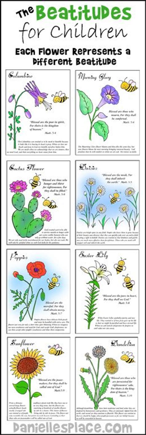 beatitudes color sheets for children s sunday school from 281   96c56fd3ac434789bd761df256c8cb1f
