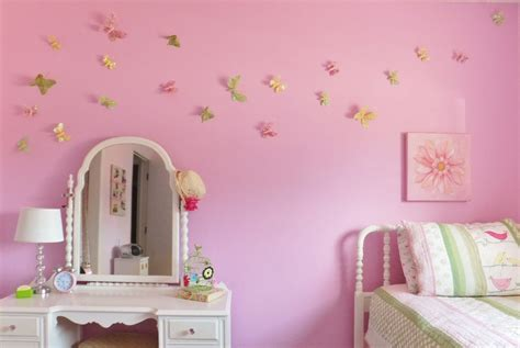 beautiful girl butterfly bedroom decorating ideas for your