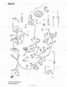 Suzuki Motorcycle 2001 Oem Parts Diagram For Wiring Harness