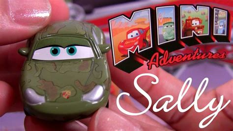 Sally With Mater Carros Mini Adventures Collection Disney