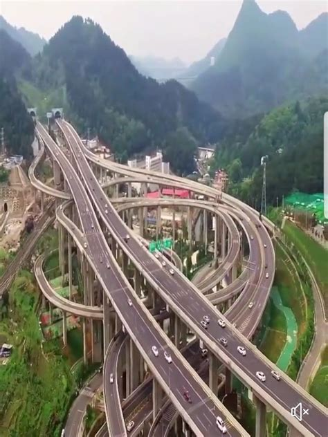 Qianchun Interchange one of china s most complex interchanges it s called