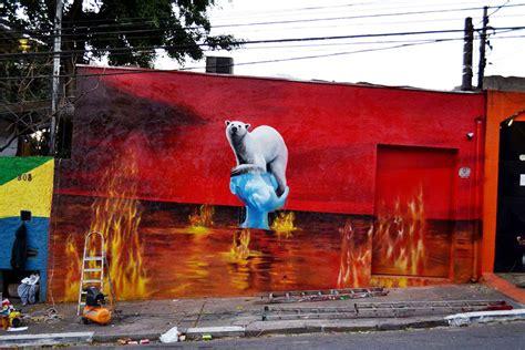 graffitis contra el cambio climatico gaia ciencia
