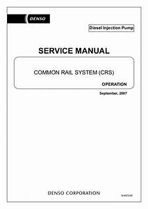 Bosch Injection Pump Service Manual