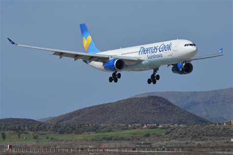 Thomas Cook Scandinavia Airbus A-330-300 over Russia on ...