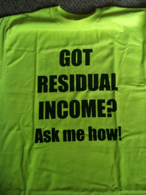 residual income quotes quotesgram