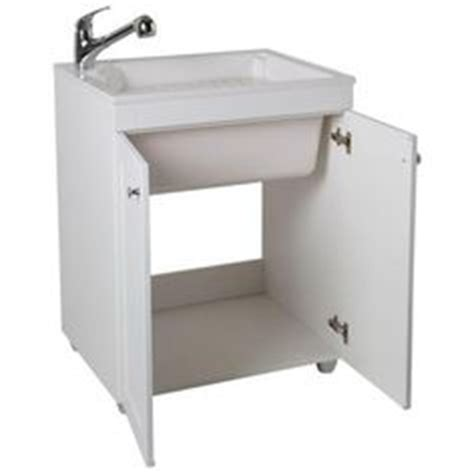 Glacier Bay Laundry Sink And Cabinet by Glacier Bay All In One 24 2 In X 21 35 In X 33 85 In