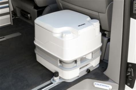 vw t6 cer mit toilette console for cing toilet vw t6 california shops toilets and products