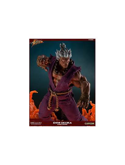 Akuma Shin Statue Pcs Fighter Street Toy