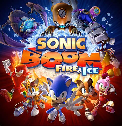 sonic races  nintendo ds  sonic boom fire ice