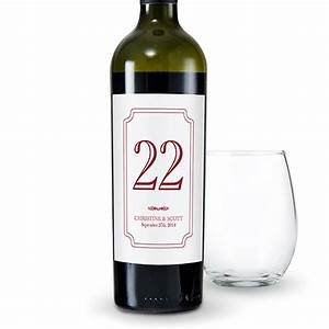 classic personalized wine label table number labels the With classic wine labels