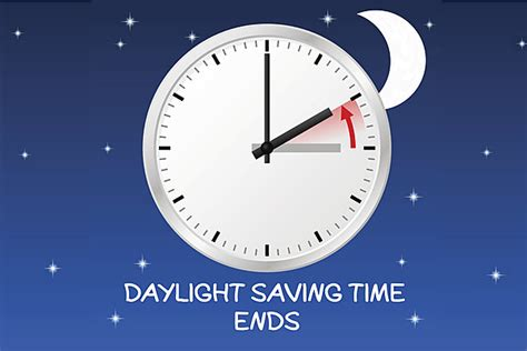 Day Light Saving Time Change by Daylight Saving Ends Sunday Here S Some Time Change