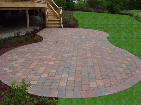 patio paving bricks brick paver patio ideas patio