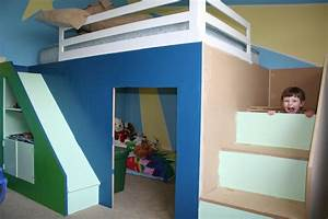 Full Over Full Bunk Beds with Stairs – Matt and Jentry
